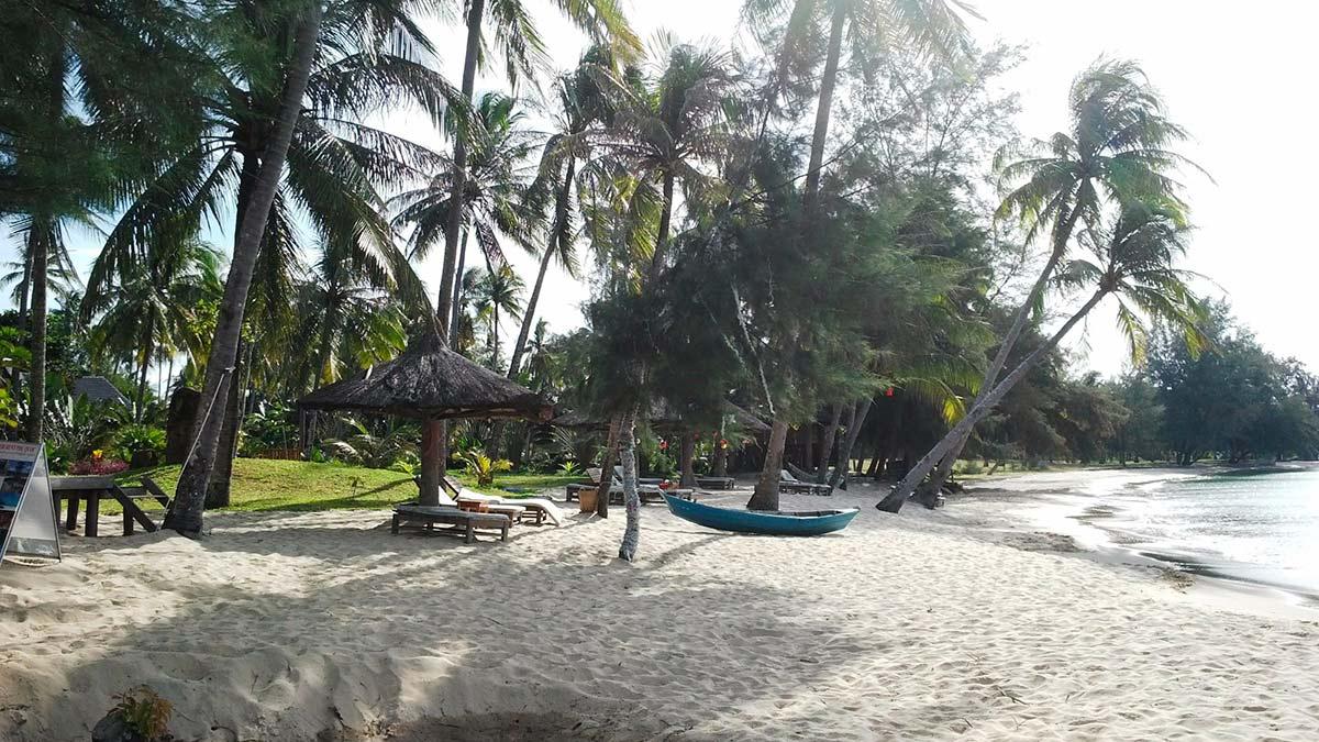 Пляж Бай Онг Ланг (Bai Ong Lang) Вьетнам