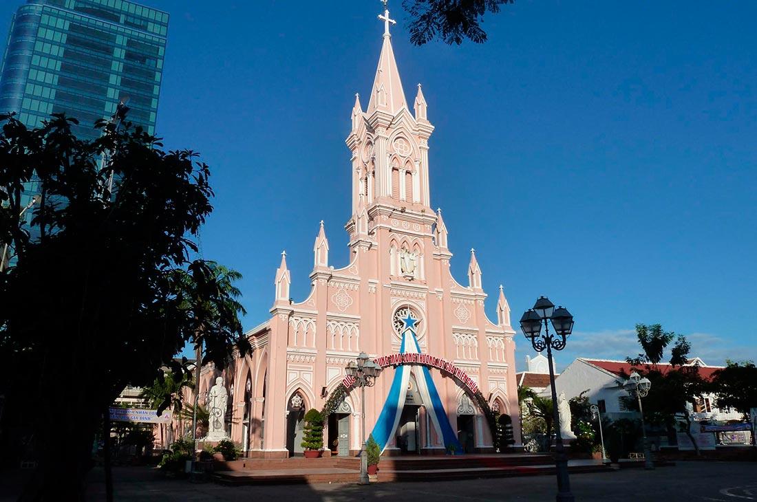 Достопримечательности дананга Кафедральный собор (Da Nang Cathedral)