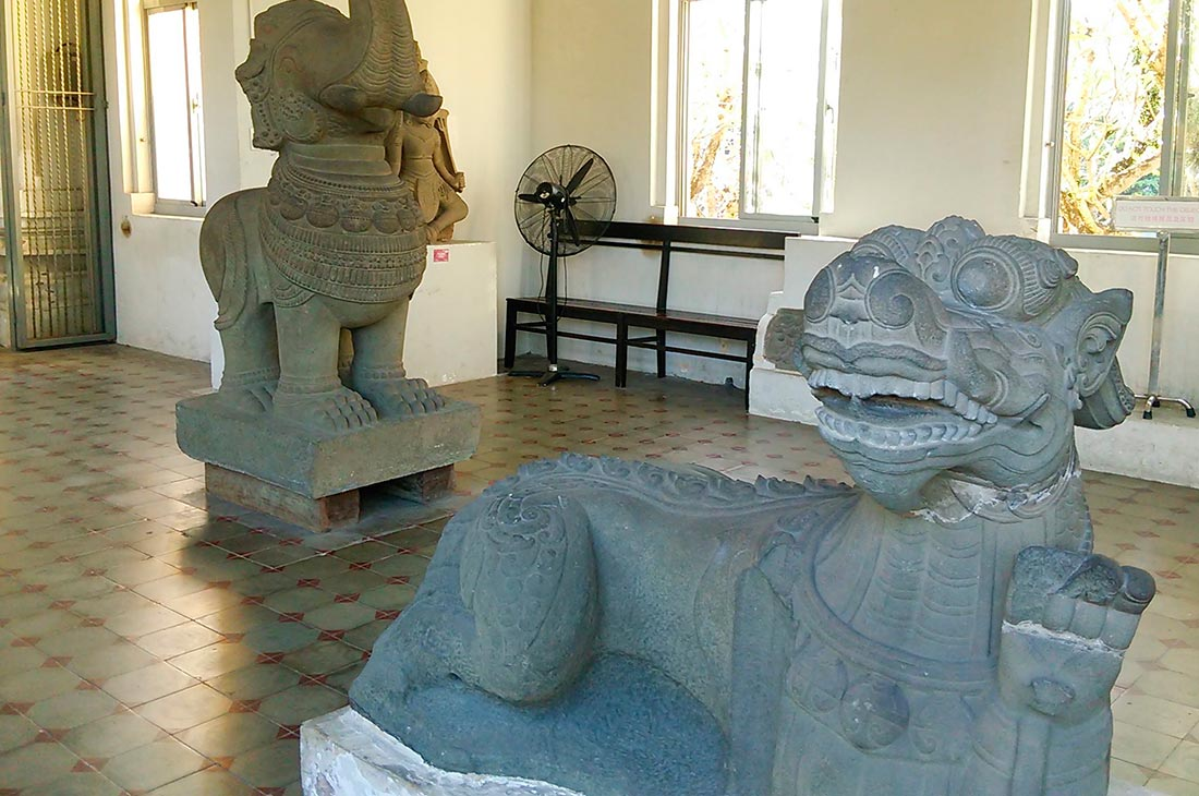 Музей Чам (Da Nang Museum of Cham Sculpture)
