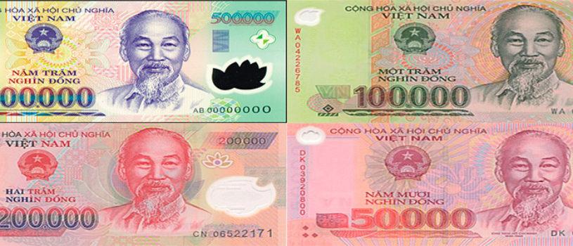 Курс вьетнамского донга к рублю и доллару на сегодня