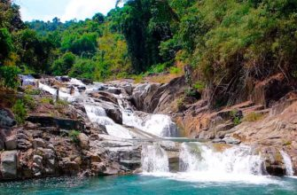 Водопад янг-бей Нячанг