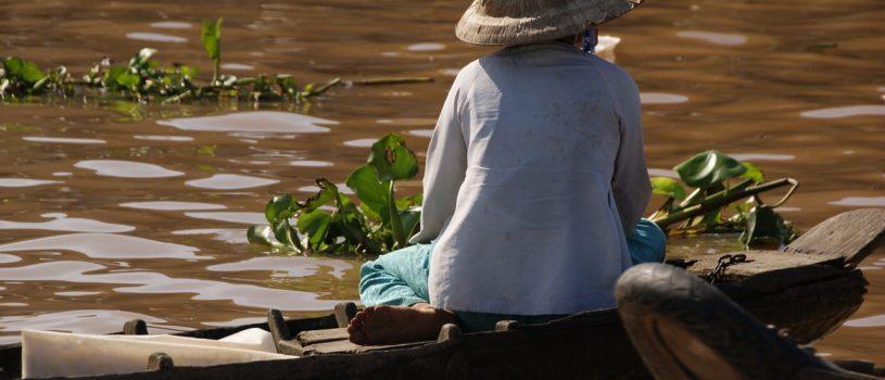 Река Меконг во Вьетнаме