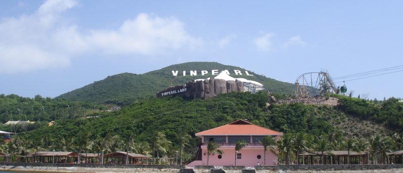 Парк развлечений на острове Винперл в Нячанге