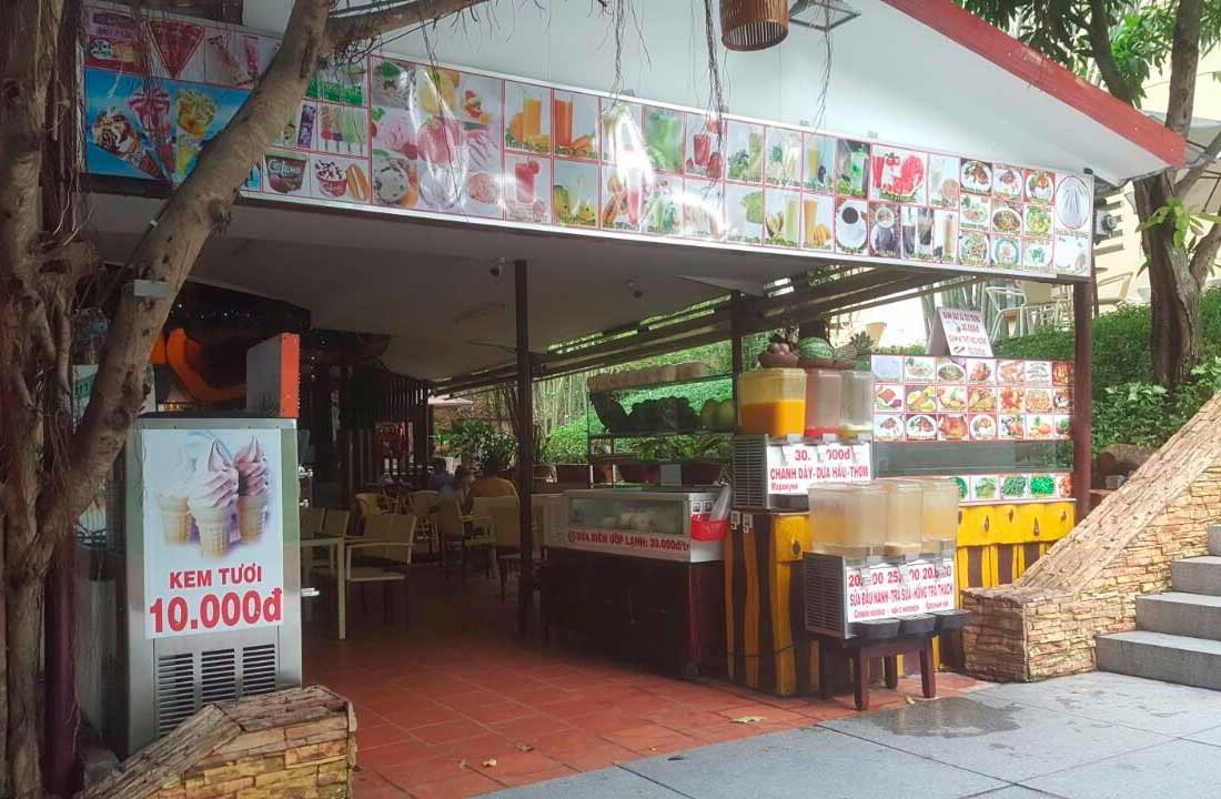 Нячанг-Винперл-кафе