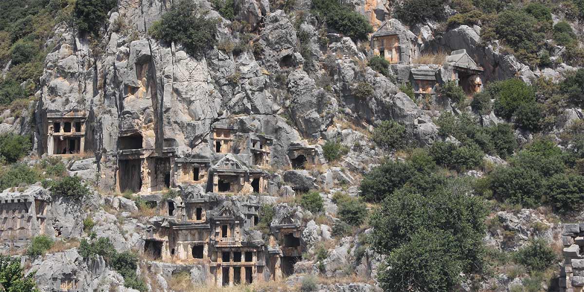 Ликийские гробницы в Демре
