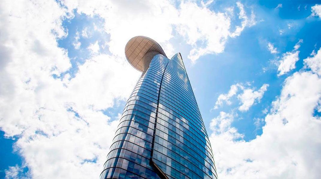 Смотровая площадка на башне Bitexco в Хошимине