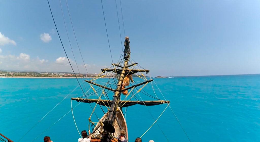 Прогулка на яхте из Сиде