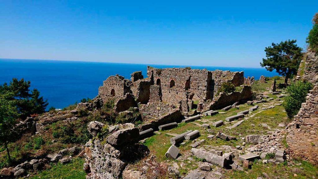 Античный город Сиедра