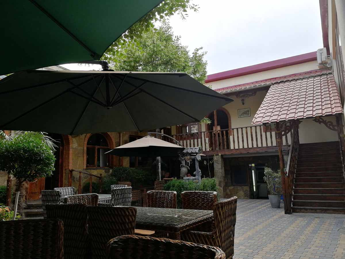 Ресторанчик в Тбилиси