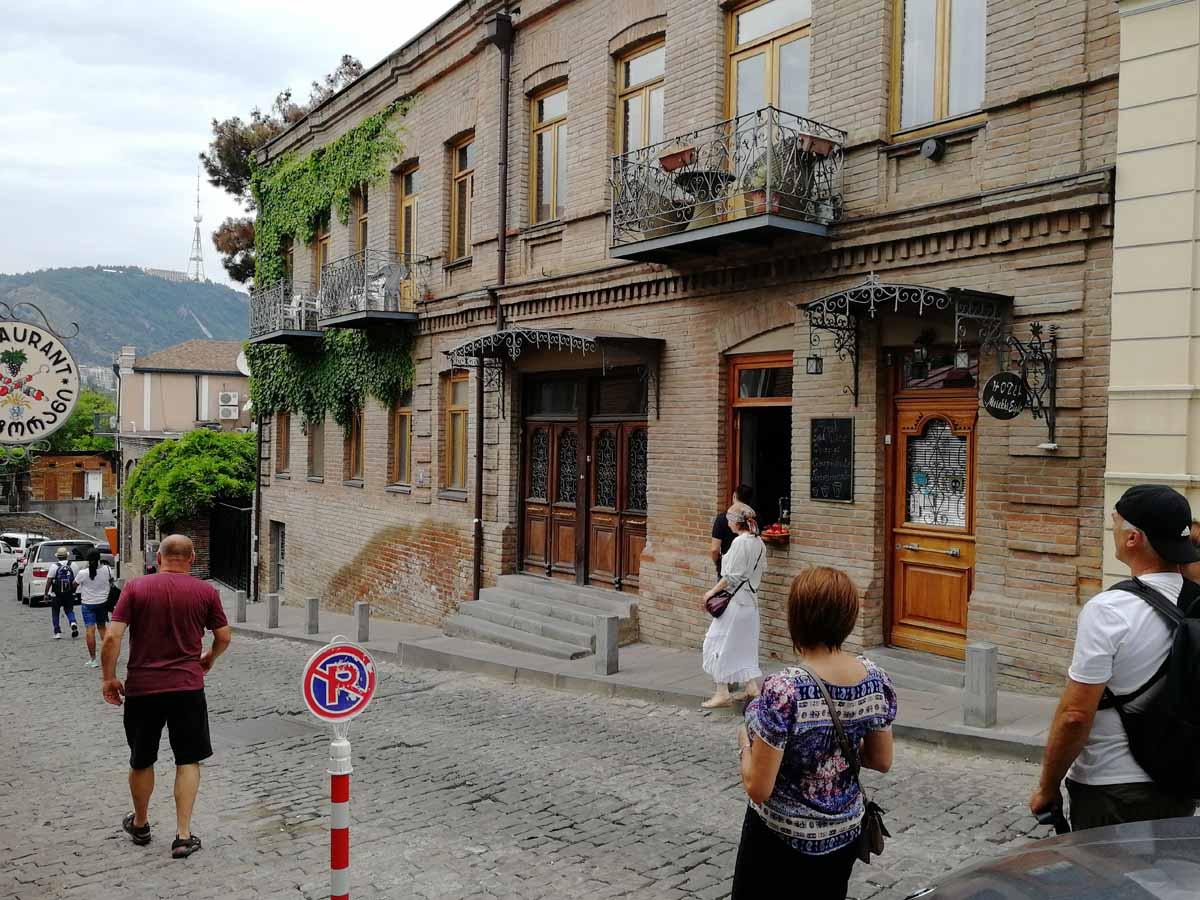 Улочки в центре Тбилиси