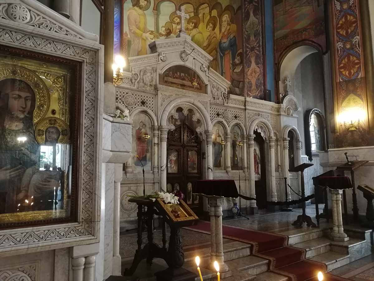 Церковь Кашвети - иконостас
