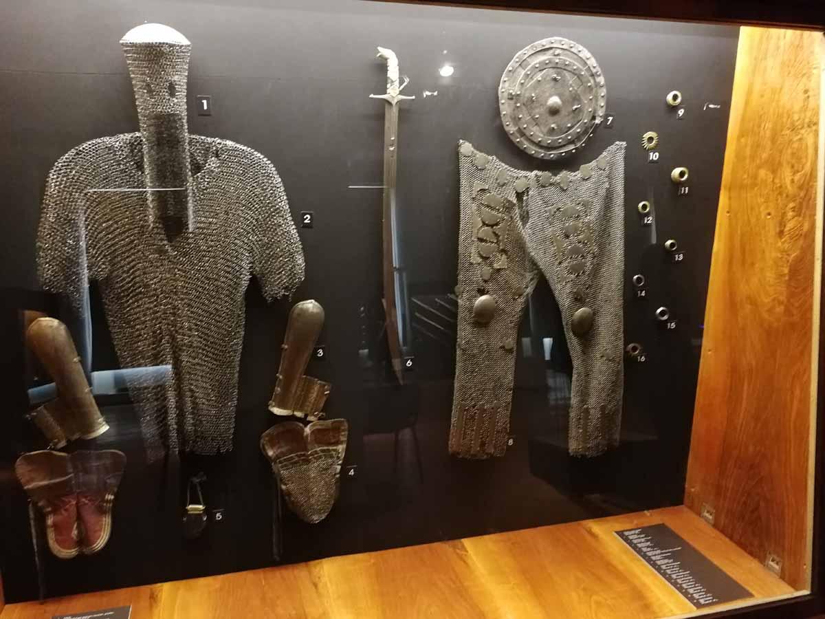 Доспехи грузинских воинов - средние века