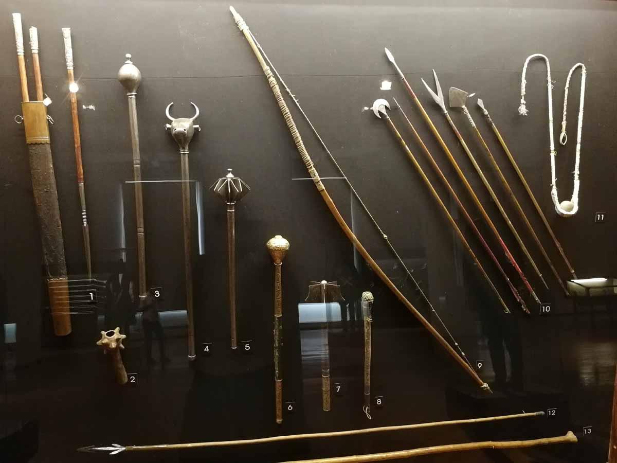 метательное оружие в Национальном музее Грузии