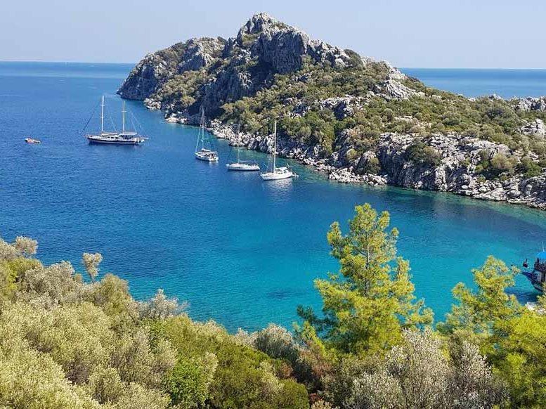 Самые красивые места Турции для отдыха с чистыми пляжами морем природа фото курортов