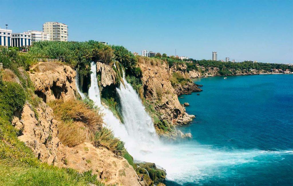 Дюденские водопады
