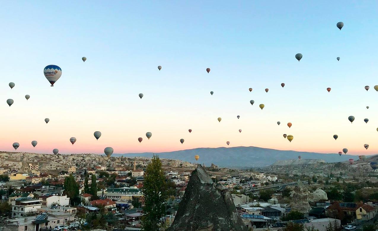 Каппадокия-полет на воздушных шарах