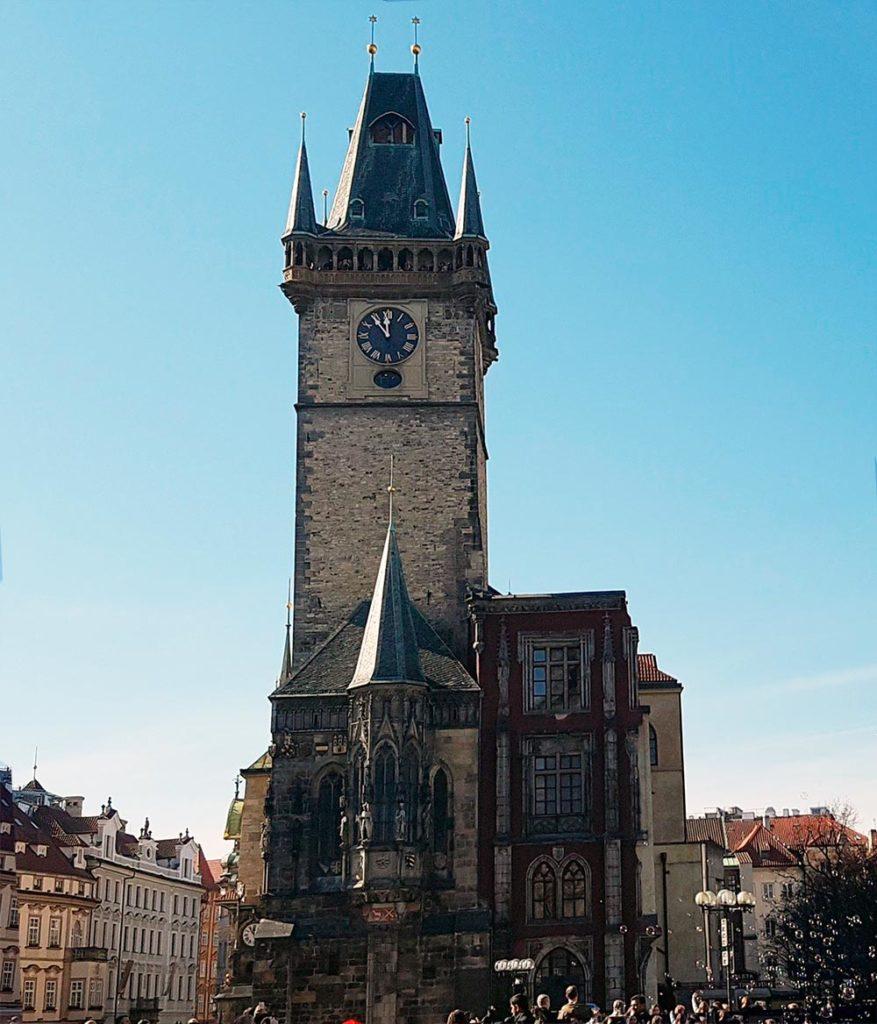 Башня ратуши на Староместской