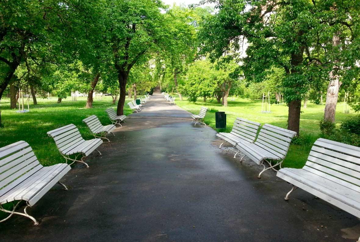 Парк Вояновы сады