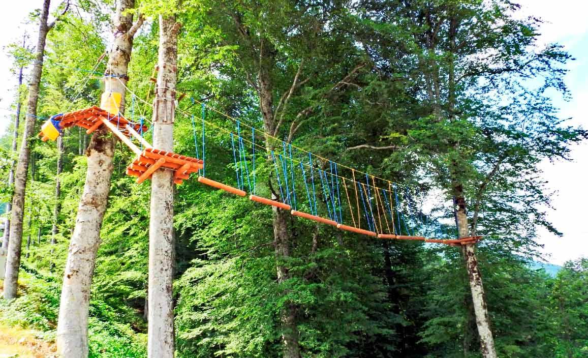 Веревочный «Панда Парк»