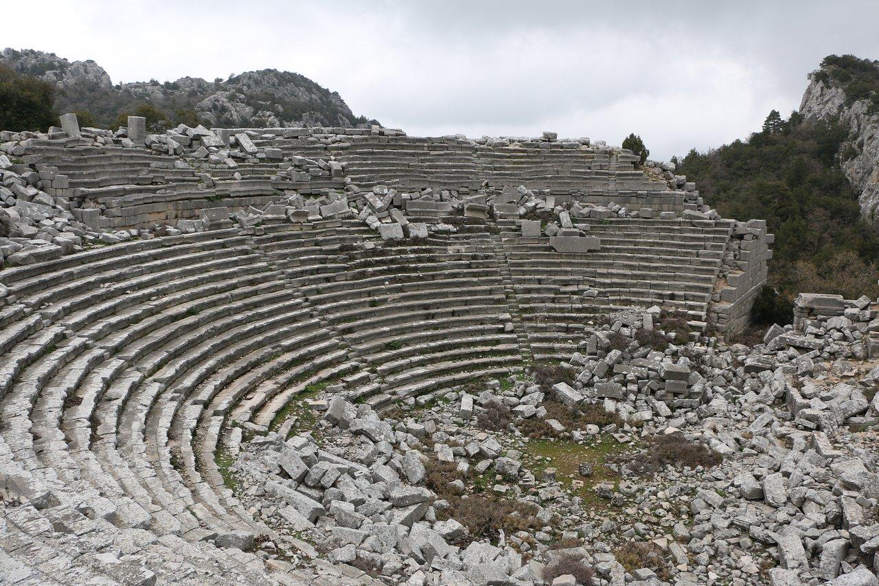 древний город Термессос