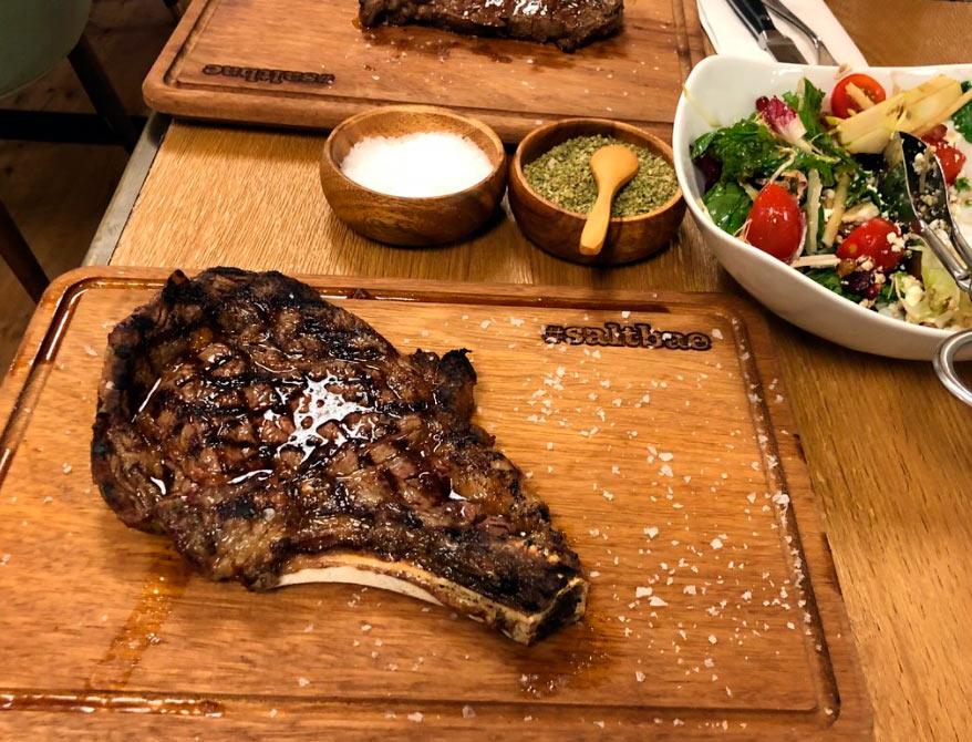 Ресторан Nusr-Et Steakhouse