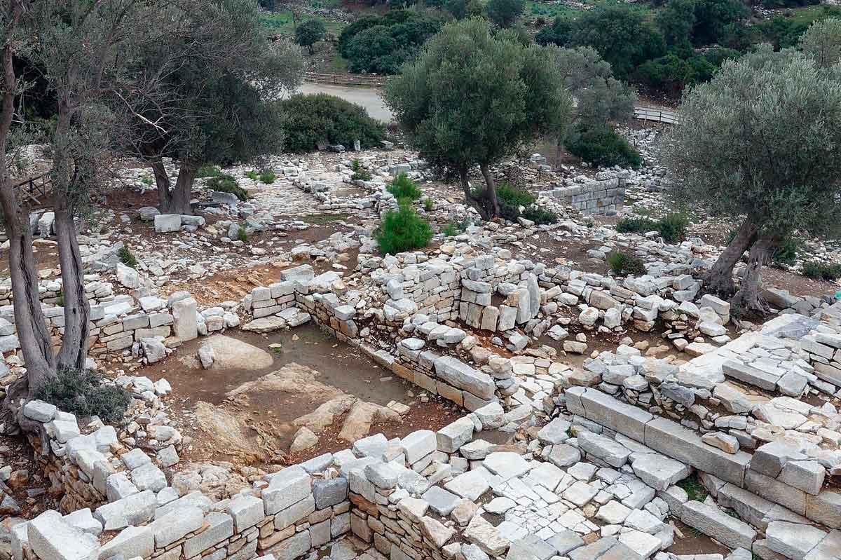 Древний город Педаса